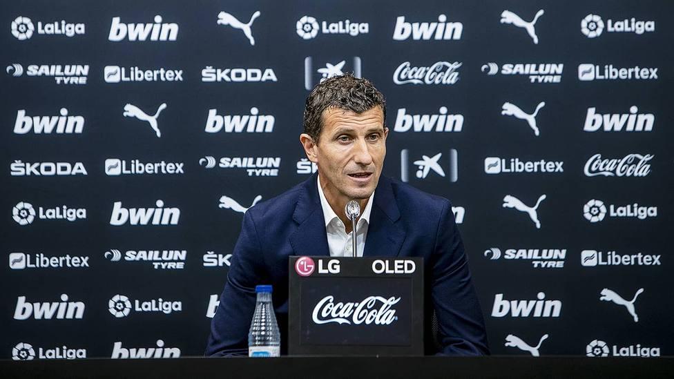 Gracia tras la derrota del Valencia CF