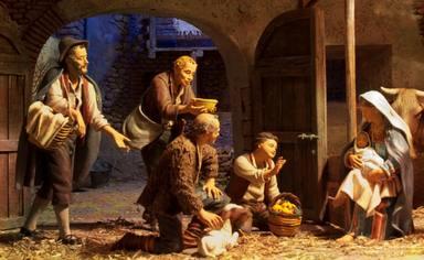 El significativo papel de los pastores en el Portal de Belén durante la  Adoración al Niño Jesús - Religión - COPE