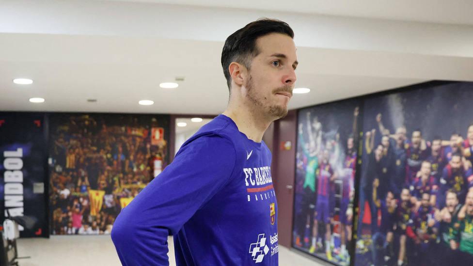 Thomas Heurtel, en las instalaciones del Barcelona. CORDONPRESS