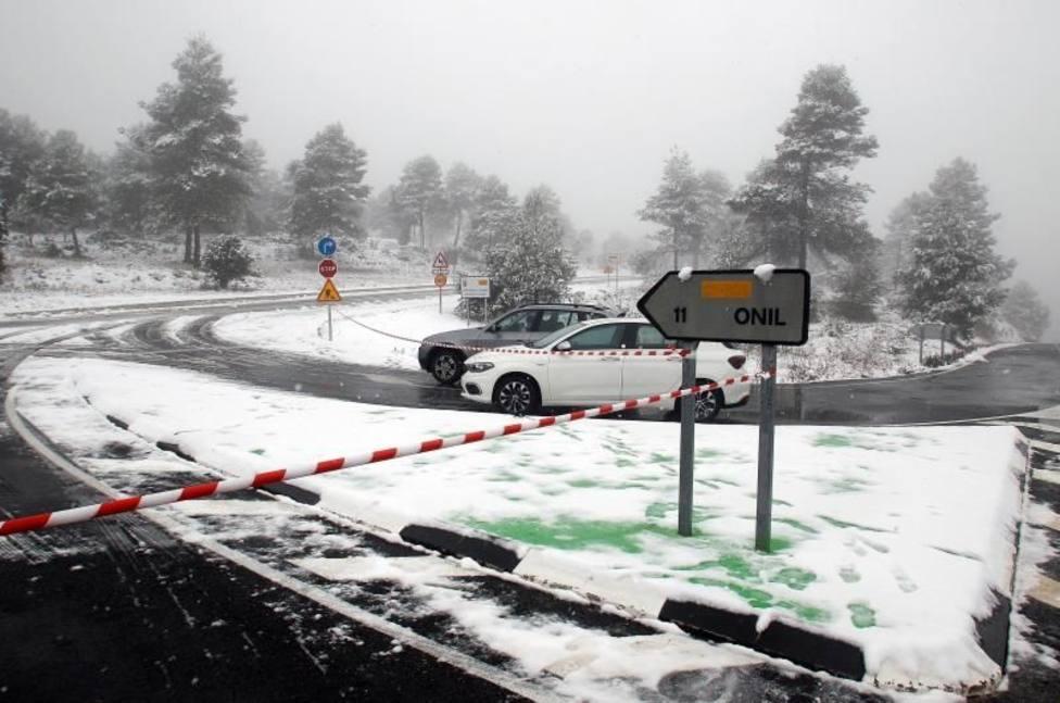 El temporal Filomena afecta a un total de 659 carreteras del país, de las cuales133 permanecen cortadas