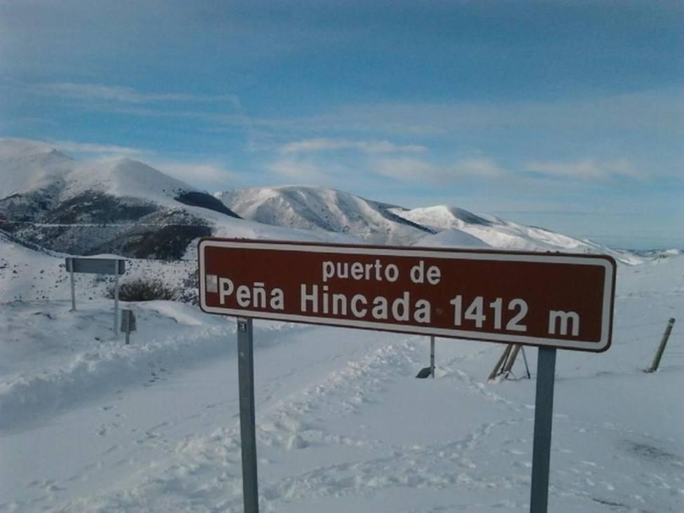 puerto de Peña Hincada