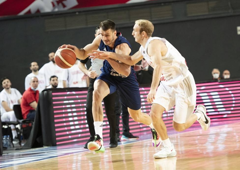 Conner Frankamp debutó con Georgia ante Serbia