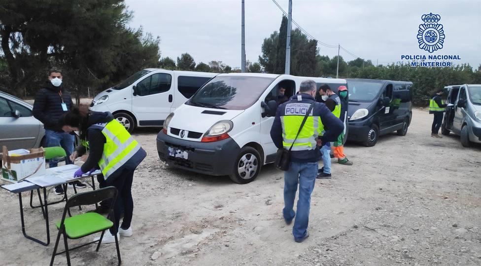 Detienen en Murcia a doce personas, cuatro de ellas por usurpación del estado civil y falsedad documental