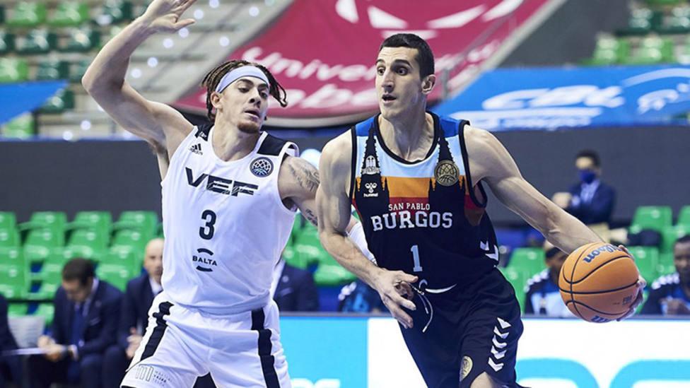 El Hereda San Pablo Burgos sufre para vencer al VEF Riga