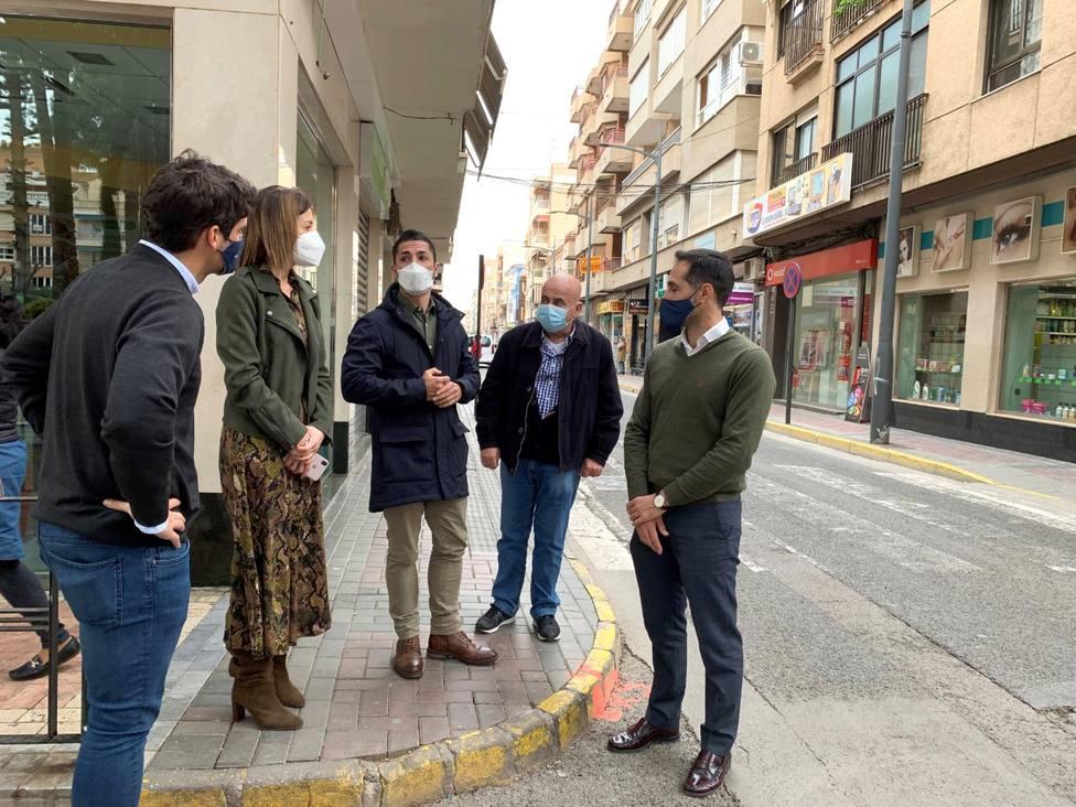 Comienzan las obras en las calles de preferencial peatonal Conde de Aranda y Juan Pablo I