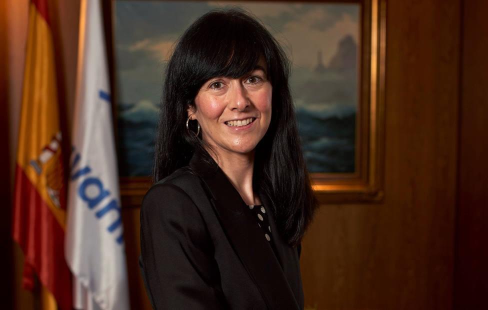 Belén Gualda solo llevaba unos meses como presidenta de Navantia - FOTO: EFE / Roberto Maroto