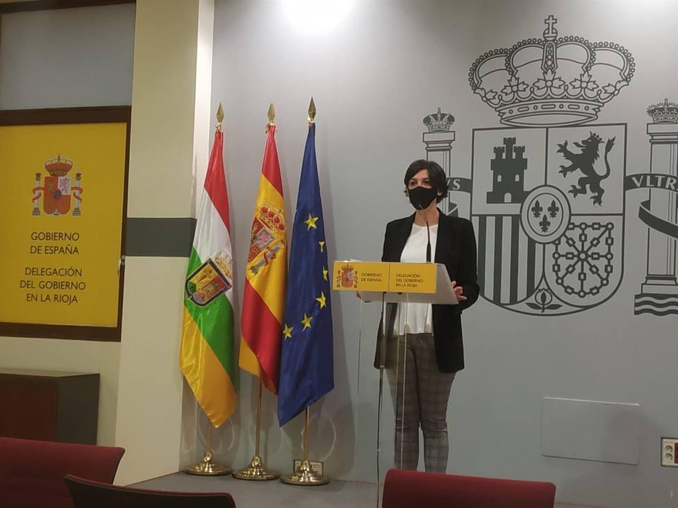 Delegada del Gobierno en La Rioja