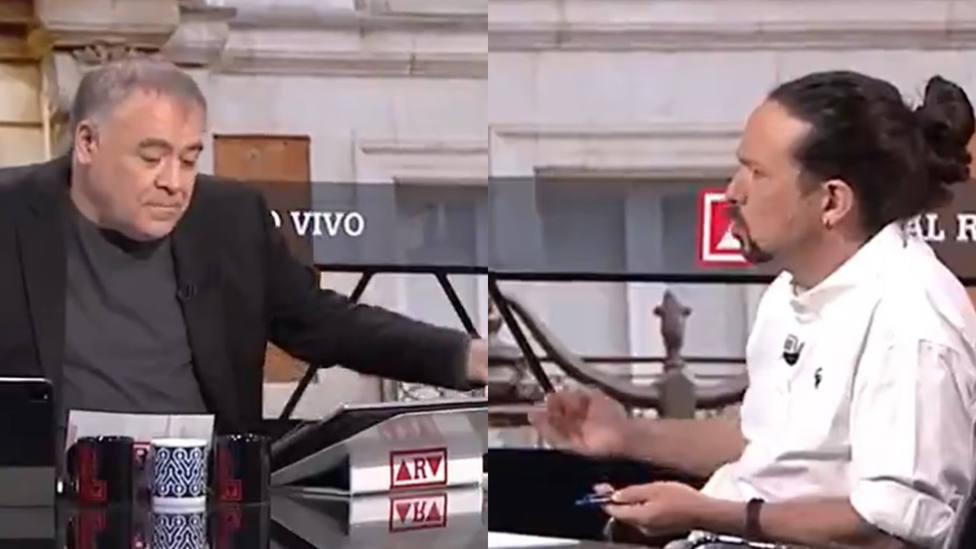 Iglesias señala en directo a uno de los colaboradores de Ferreras en Al Rojo Vivo: Tu amigo...