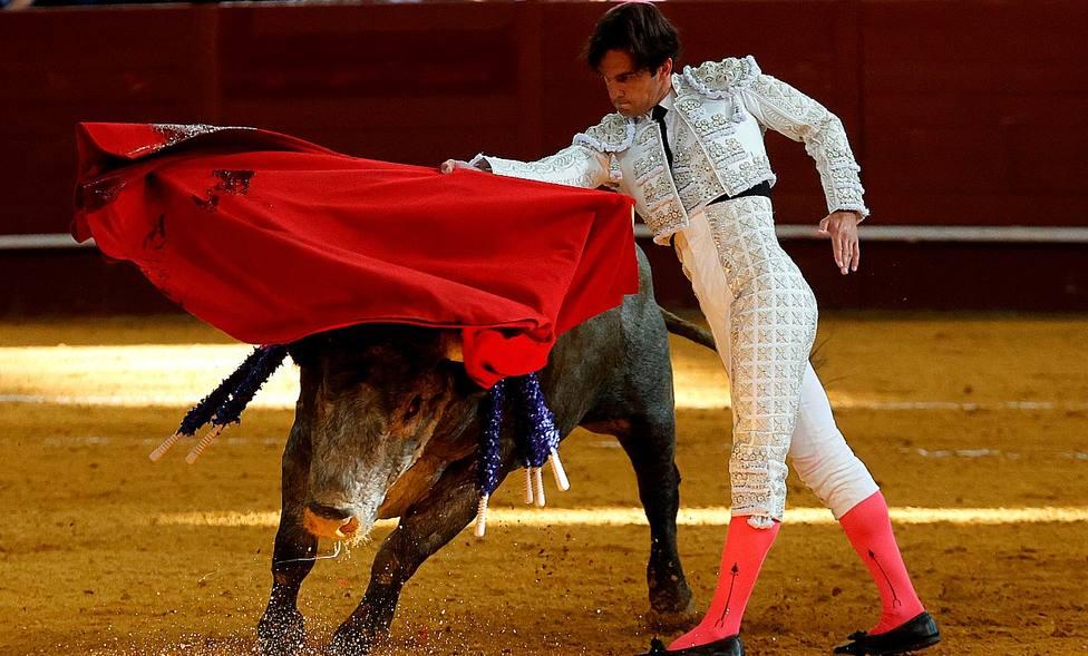 Juan del Álamo durante su actuación el pasado domingo en el Palacio Vistalegre