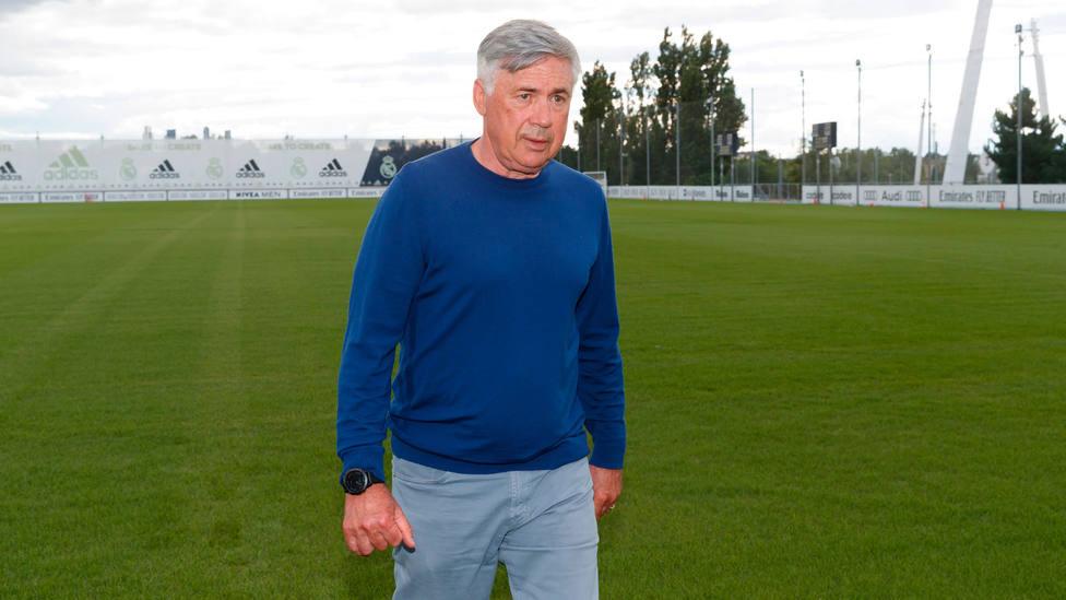 Ancelotti se presenta en Valdebebas