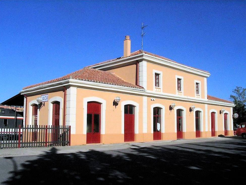 Estación de tren de Jaca