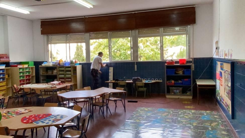 Los colegios de Motril ultiman las últimas obras ante el inminente comienzo del curso