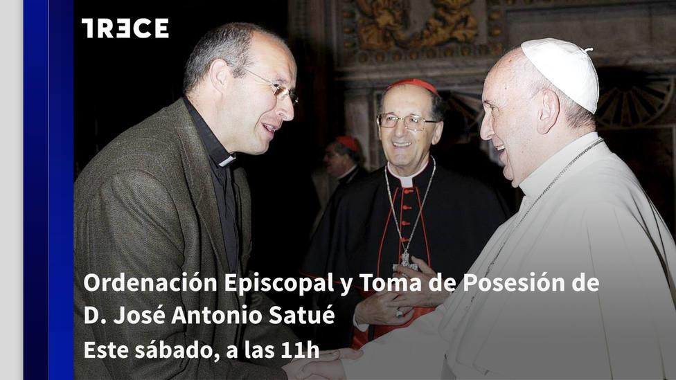 TRECE emite este sábado la ordenación y toma de posesión del nuevo obispo de Teruel y Albarracín