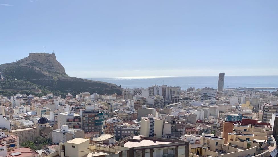 Las mínimas bajan casi cinco grados en Alicante