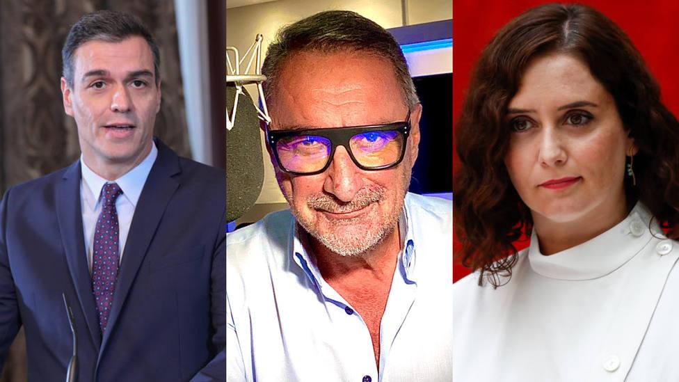 El repaso de Herrera a Sánchez tras su último enfrentamiento con Ayuso, entre lo más leído de este lunes
