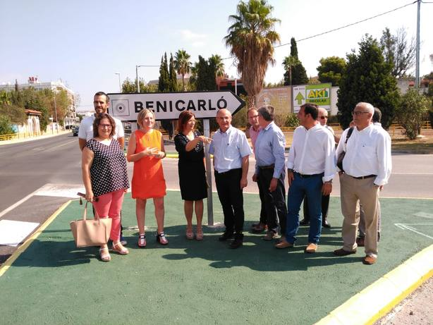 La Conselleria de Obras Públicas construirá una nueva rotonda en Benicarló