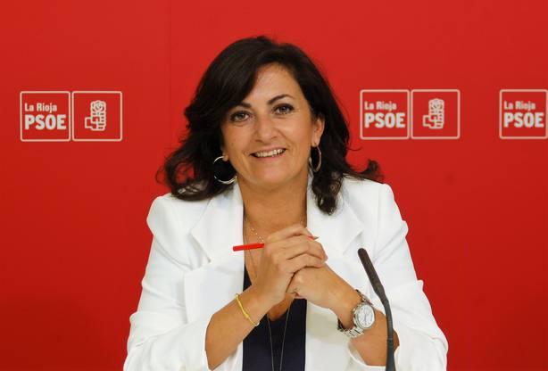 Concha Andreu, portavoz parlamentaria del PSOE