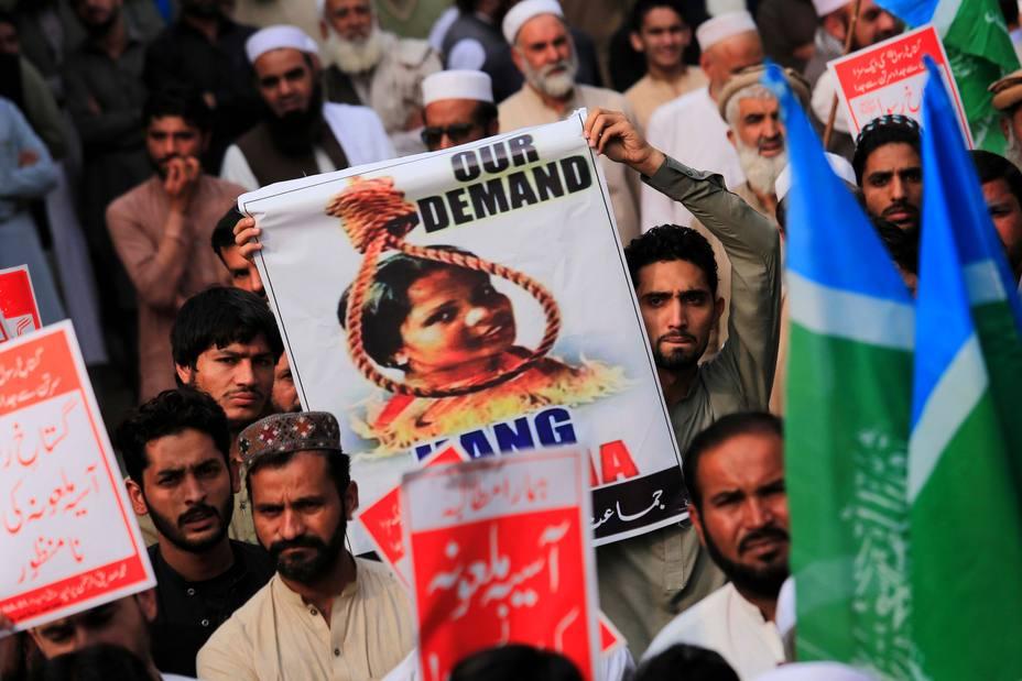 Según el Ministerio de Exteriores la cristiana Asia Bibi sigue en Pakistán y es libre de ir a donde quiera