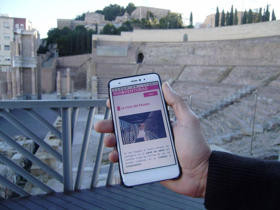 Nueva guiaventura para el Teatro Romano