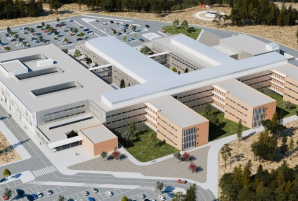Diseño del futuro hospital de Teruel