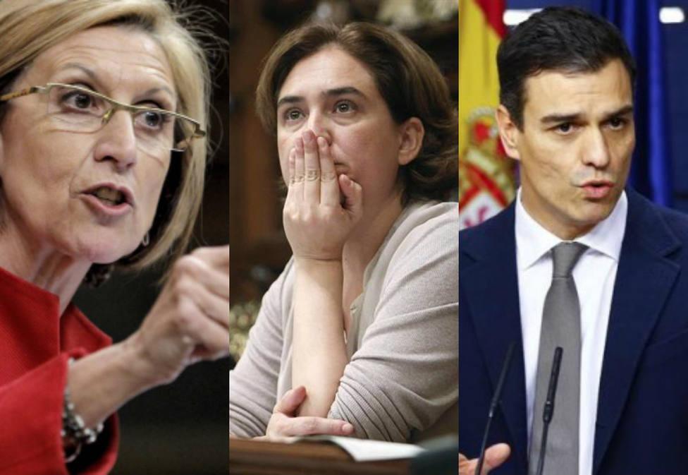 La batería de reproches que Rosa Díez ha mandado a Ada Colau y a Pedro Sánchez por la inseguridad en Barcelona