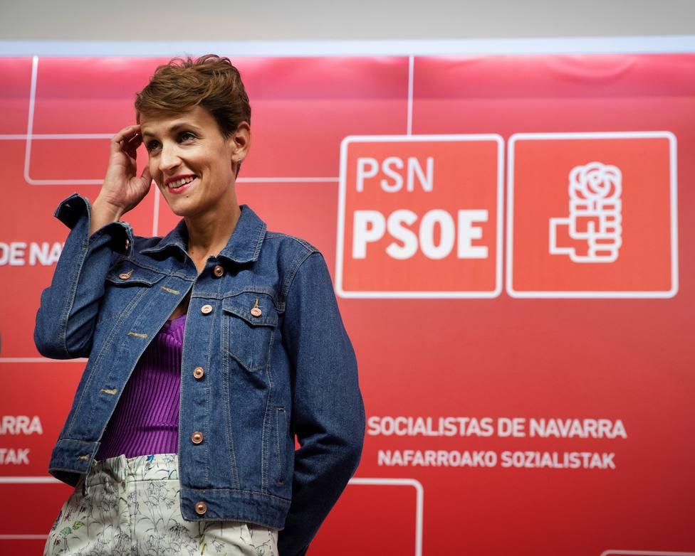 El PSOE ya vota junto a Bildu en el parlamento navarro