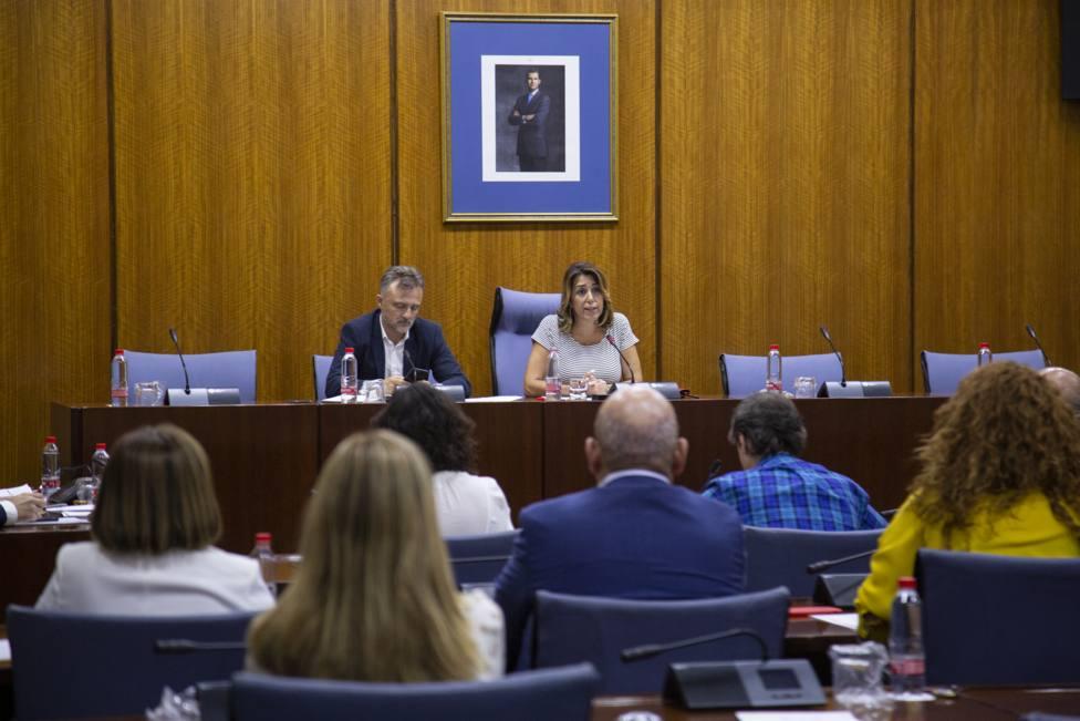 Susana Díaz garantiza lealtad institucional pero también contundencia para que no mutilen lo logrado desde el 28-F