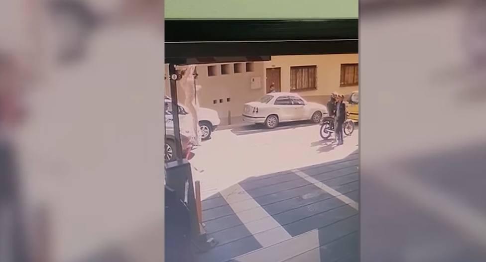 Las increíbles imágenes de la fuga de película de una excongresista aprovechando una visita al dentista