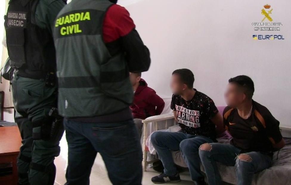 Grupo criminal de origen albanés especializado en robos a viviendas habitadas