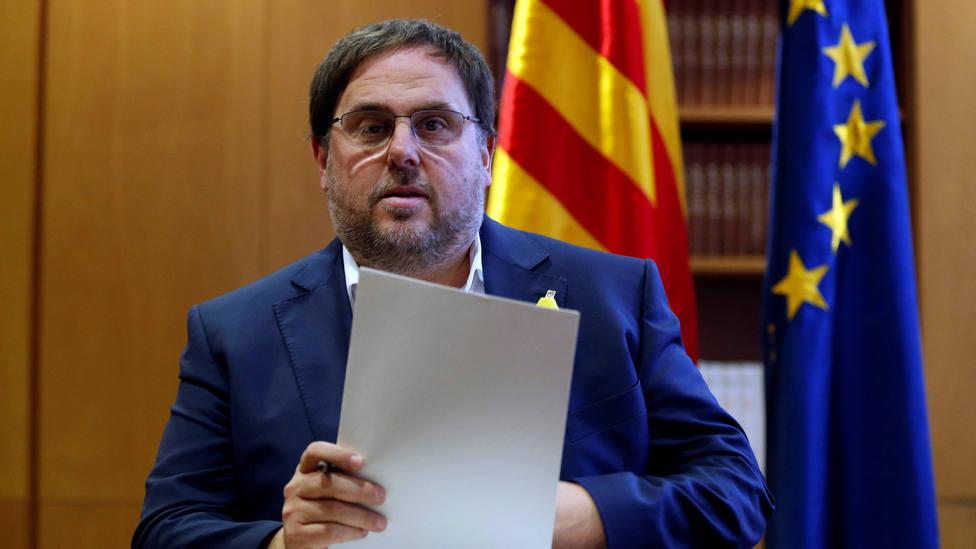 Junqueras pide que el Parlamento Europeo no deje vacante su escaño ni desestime su inmunidad