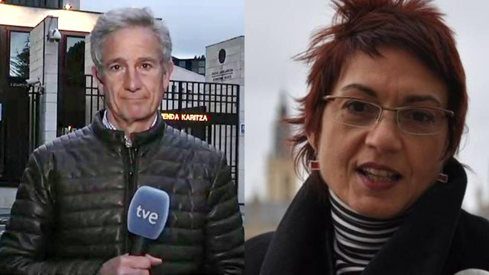 Duro enganchón entre los periodistas de TVE Anna Bosch y Álvaro López de Goicoechea: Tú estabas a lo tuyo