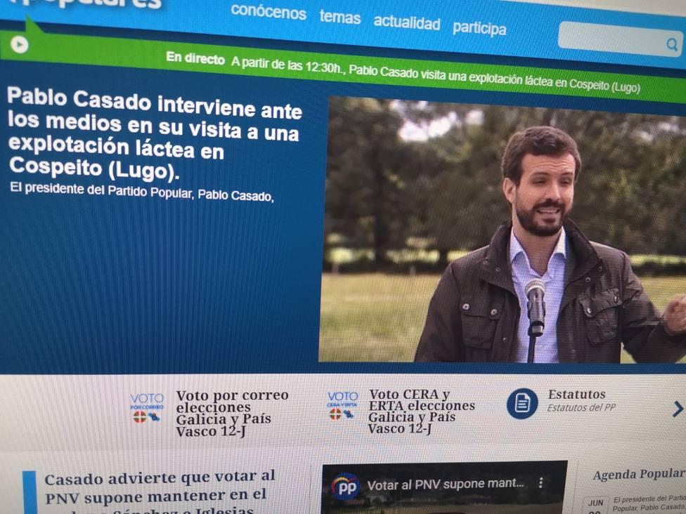 """Casado pide en Cospeito al Gobierno que coja """"el toro por los cuernos"""" con Alcoa"""