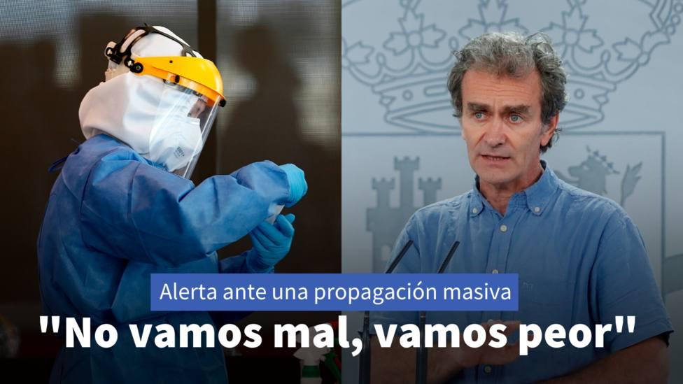 Coronavirus - Un experto del CSIC cuestiona a Fernando Simón: No vamos mal, vamos peor
