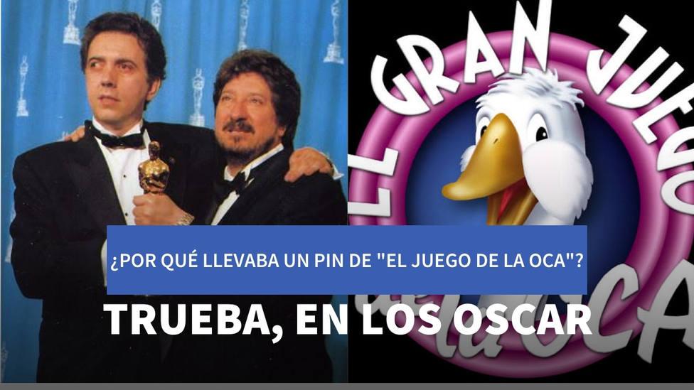 La rocambolesca historia que explica por qué Trueba recibió el Oscar con un pin de El Juego de la Oca