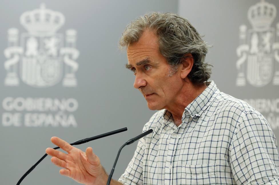 Fernando Simón, tajante sobre los colegios: Si se tienen que cerrar, se hará
