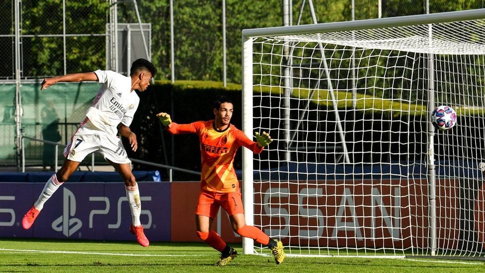 El Madrid arrolla al Inter y se clasifica para las semfinales de la Youth League