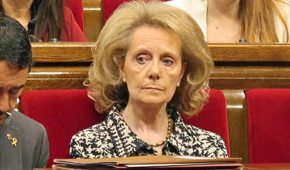 La ex- consellera de Cultura ha criticado con dureza el uso del castellano en TV3