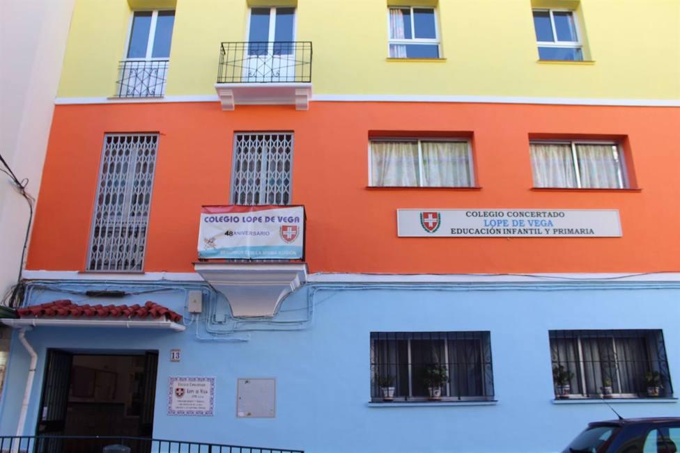 El colegio Lope de Vega, primero de la provincia en cerrar al completo por varios casos de COVID-19