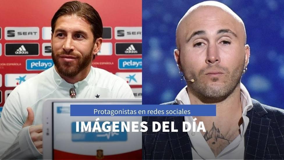 Imágenes del día: el mensaje de Kiko Rivera en su aniversario y el reencuentro entre Sergio Ramos y Cristiano