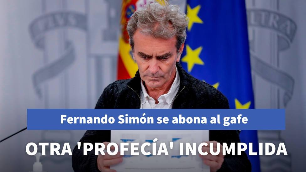 Fernando Simón se abona al gafe con las profecías: esta es la última que no se ha cumplido