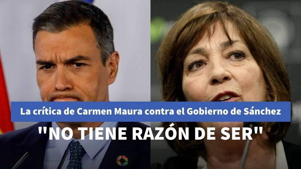 """La crítica de Carmen Maura contra el numeroso Gobierno de Sánchez con Cristina Pardo: """"¿Para el resultado?"""""""