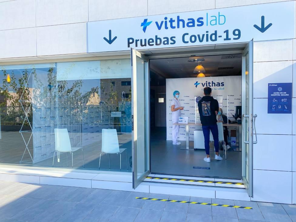 El hospital de Vithas Medimar habilita una sala exclusiva para realizar pruebas que detecten el coronavirus