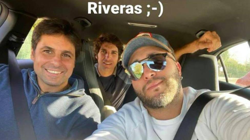 Kiko Rivera, Fran y Cayetano juntos: en el cielo hay alguien que debe estaar muy contento