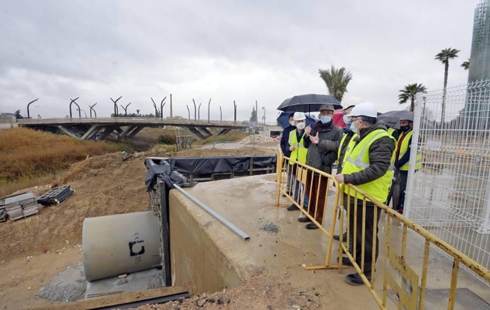 Un colector paliará las inundaciones en Santiago y Zaraiche, Zarandona, Churra y Puente Tocinos