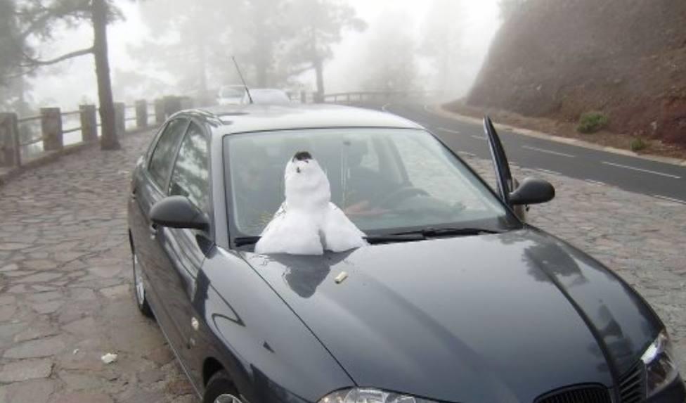 muñeco nieve teide