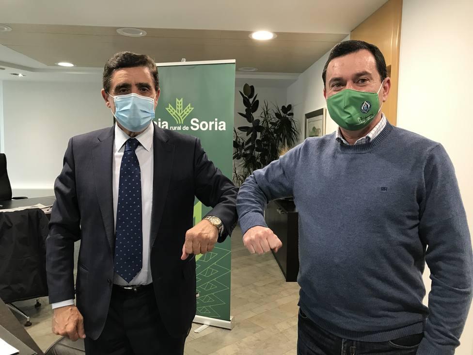 Caja Rural de Soria y el San José renuevan su convenio de colaboración