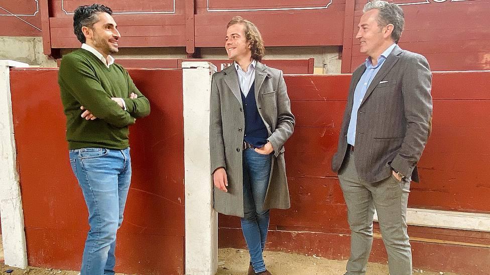 Jorge Arellano, Javier Cortés y Luis Miguel Encabo en La Cubierta de Leganés