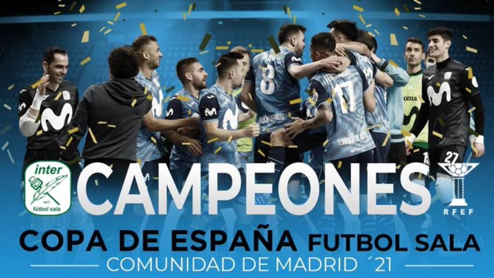 Movistar Inter conquista su undécima Copa de España