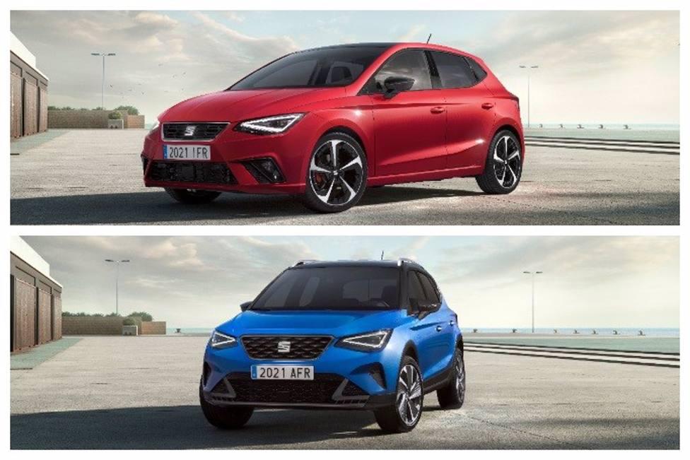 Economía/Motor.- Seat renueva sus superventas Ibiza y Arona con novedades estéticas y de equipamiento