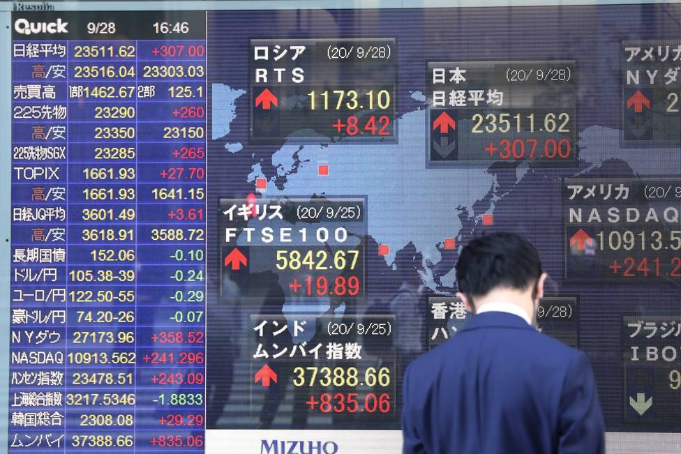 La Bolsa de Tokio ha cerrado con alza de un 2 por ciento